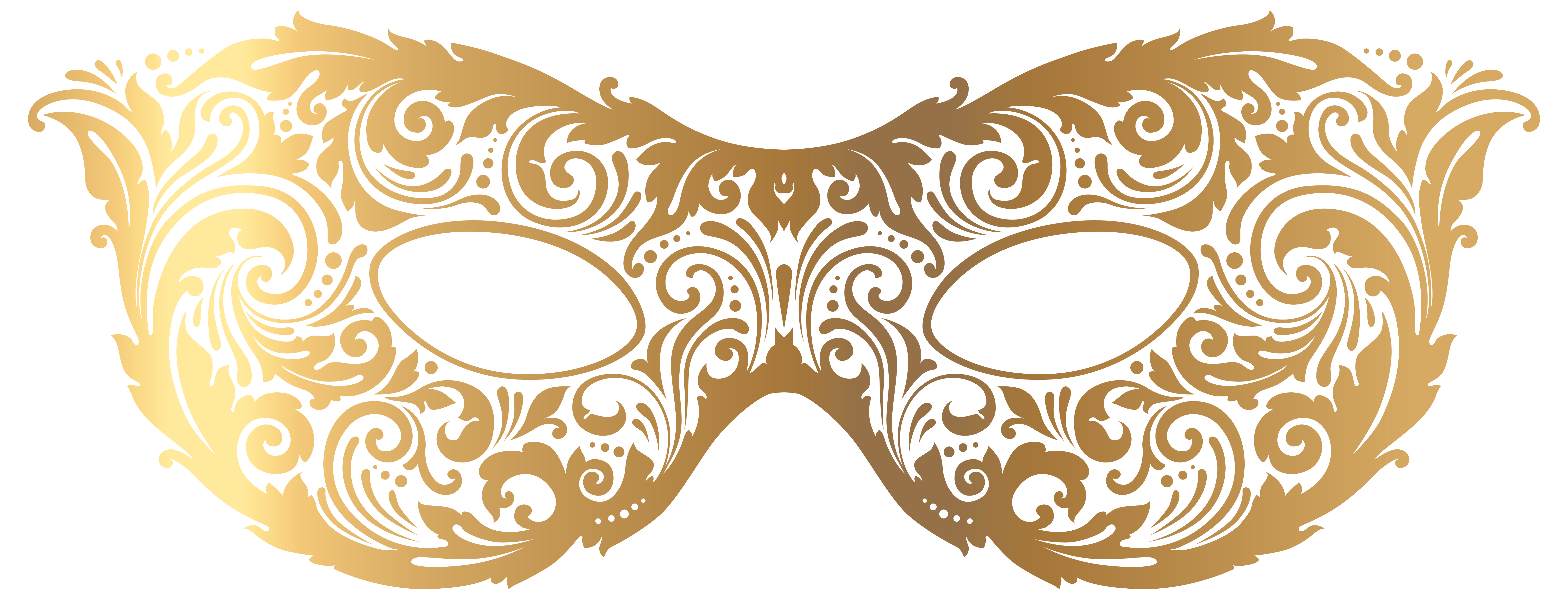 collection of gold. Masquerade mask clipart png picture royalty free stock
