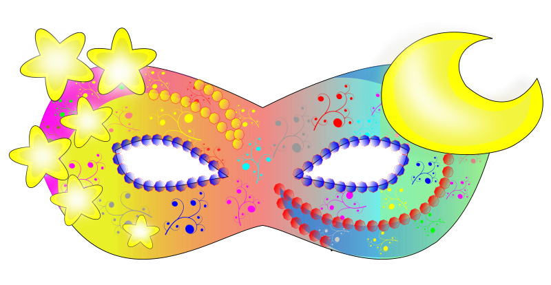 Masquerade clipart costume mask. At getdrawings com free