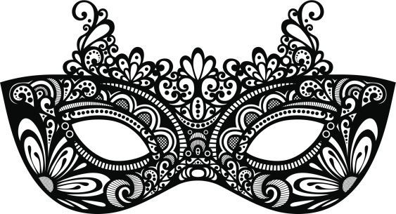Mask clipart sample. Awesome colorful masquerade