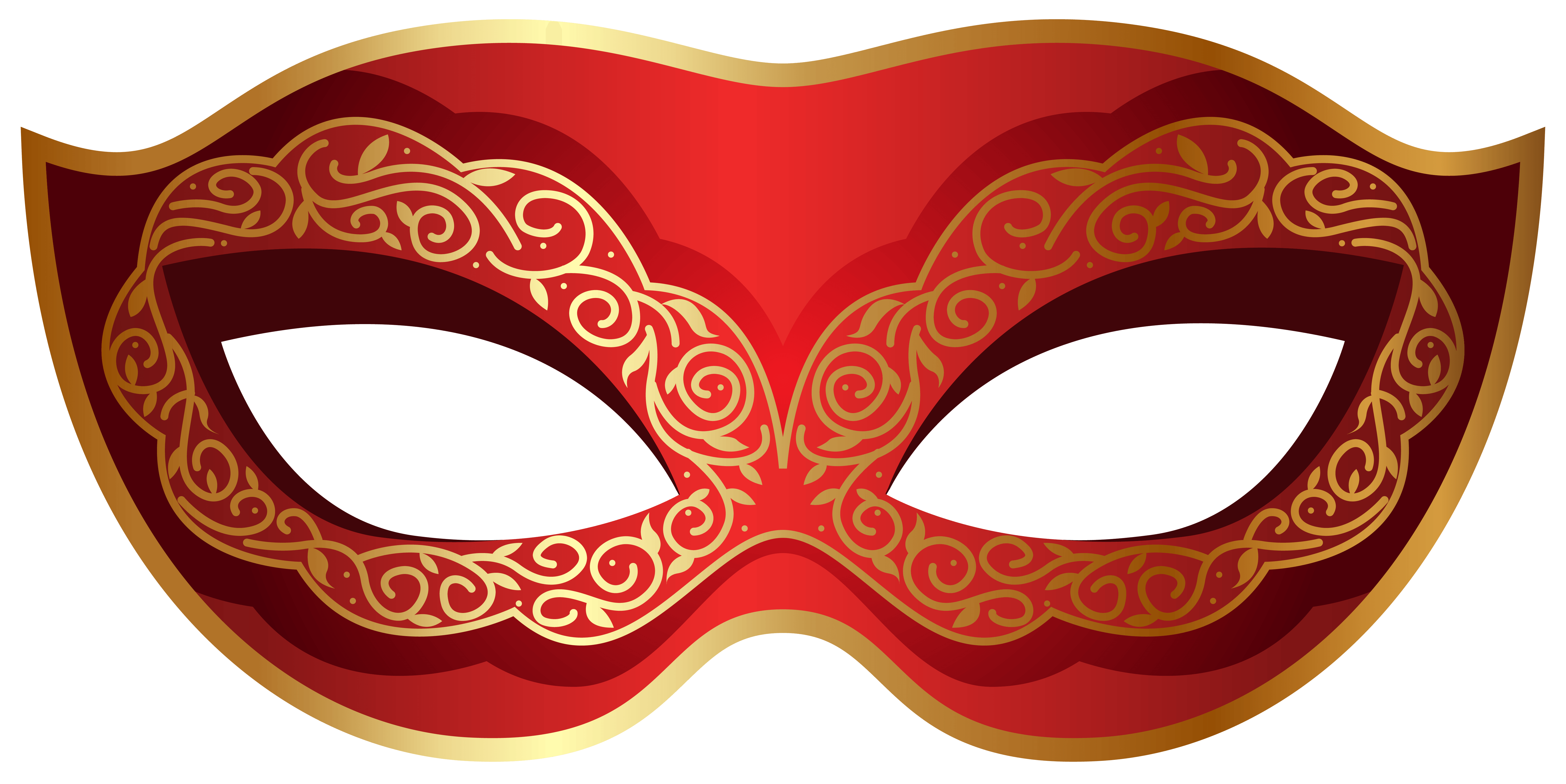 Masquerade clipart png. Collection of red