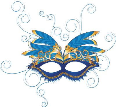 Masquerade clipart png. Image group clipartfest