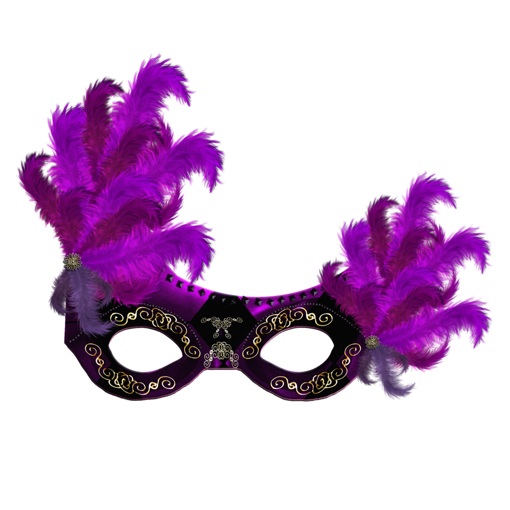 Masquerade mask silhouette png. Carnival transparent images all