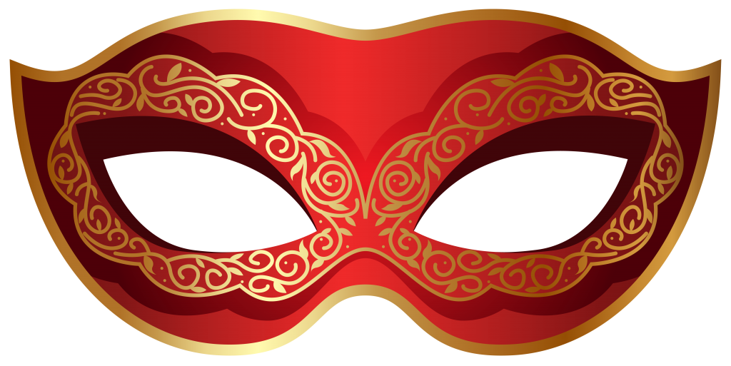 Masquerade mask vector png. Carnival image with transparent