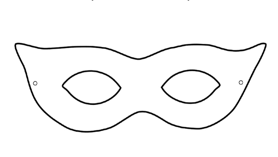 It is a picture of Printable Masquerade Mask Templates within mask shakespearean