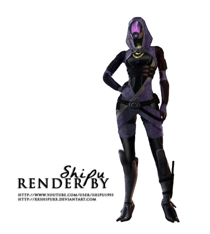 Mass effect tali png. Render by xxshipuxx on