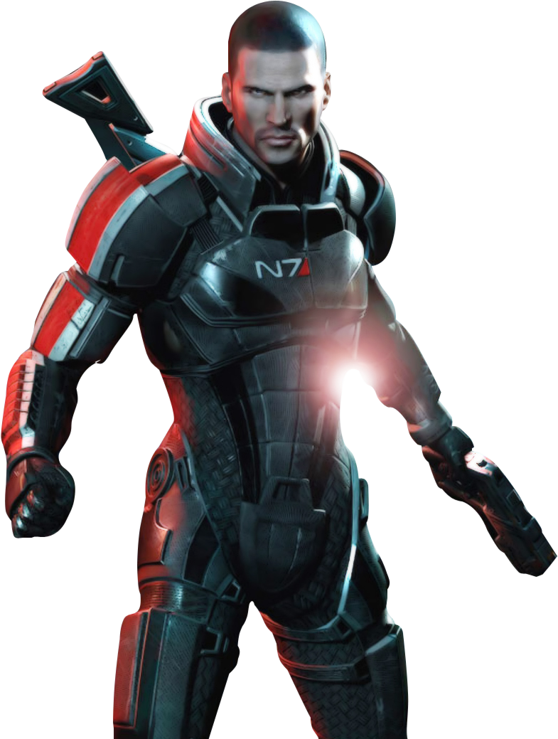 Mass effect 3 png. Image commander shepard in