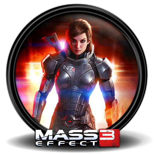 Mass effect 3 png. Icon icons softicons com