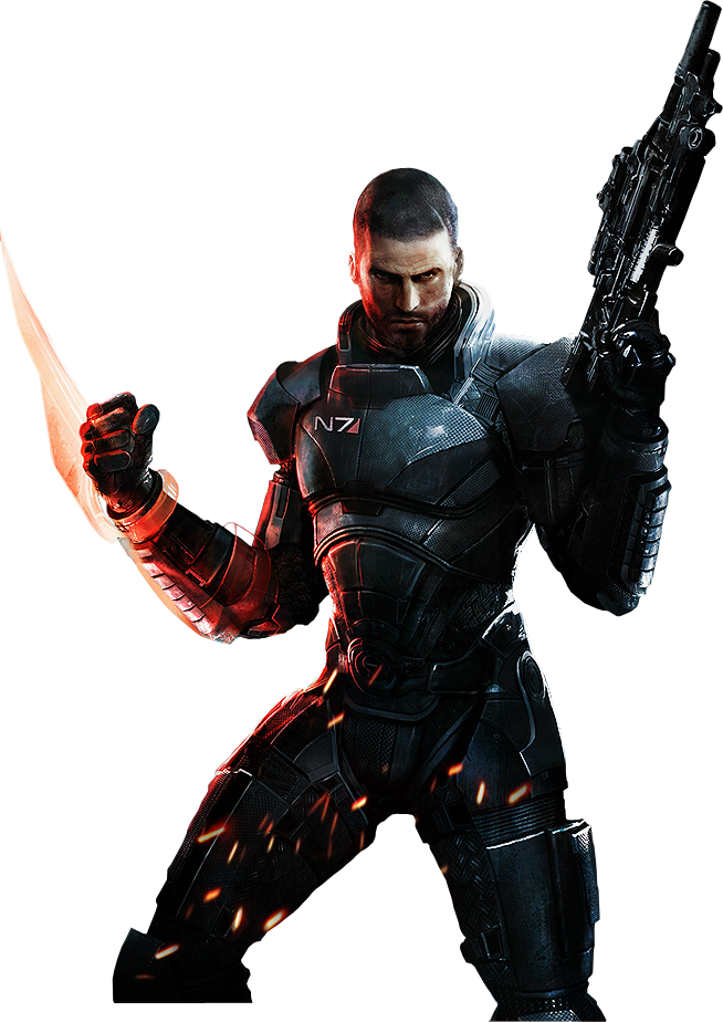 Mass effect 3 png. Render by tyson on