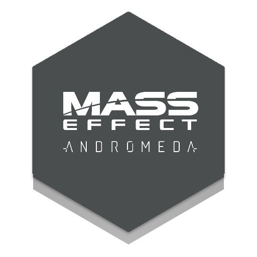 Mass effect andromeda logo png. Icon for honeycomb rainmeter