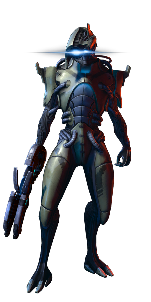 Mass effect png. Image geth infiltrator mp