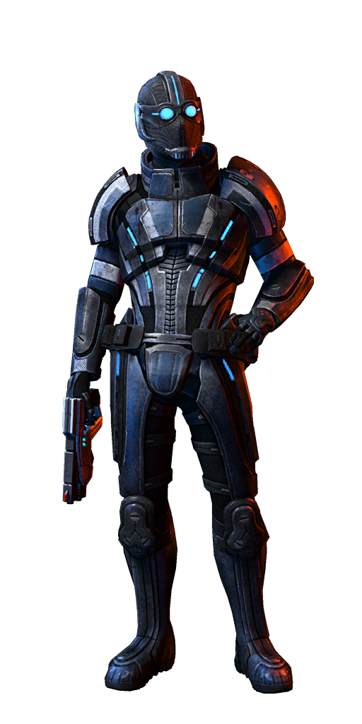 Mass effect png. Image human male adept