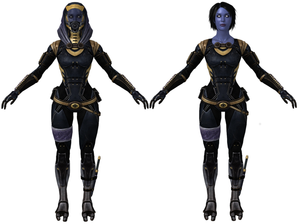 Mass effect tali png. Zorah unmasked by padme