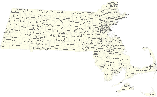 Mass vector. File ma cities towns