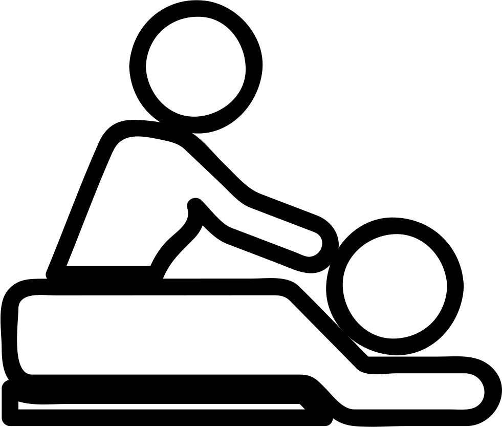 Massage vector svg. Rehabilitation therapy png icon