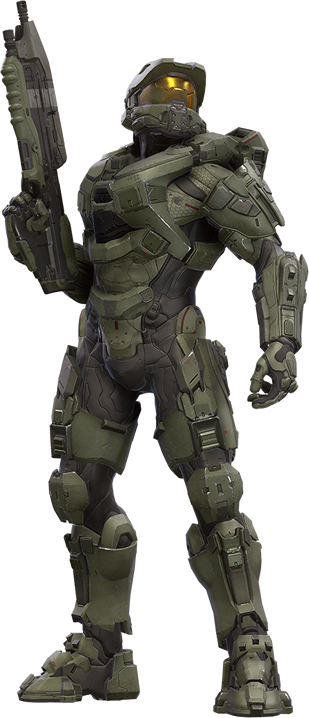 Master chief halo 5 png. Image in death battle
