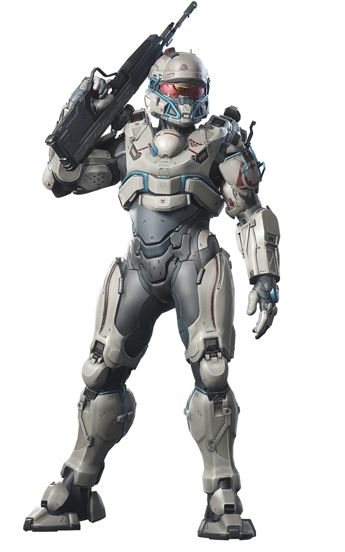 Halo 5 linda png. Official images character renders