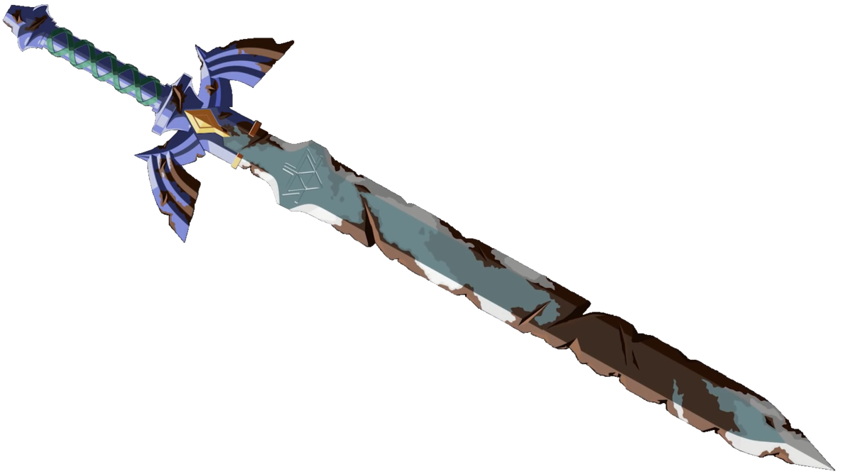 Master sword png. Rusted by jako on