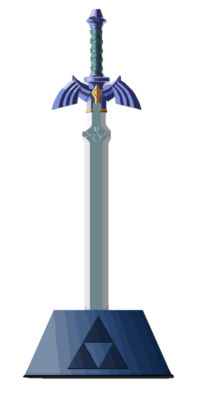 Master sword png. Pixel by arcanekeyblade on