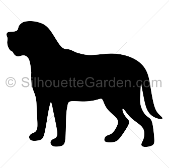 Yorkie svg silhouette. Mastiff clip art download