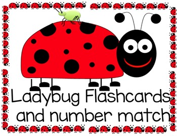 Match clipart ladybug number. Flashcards and by sparkling