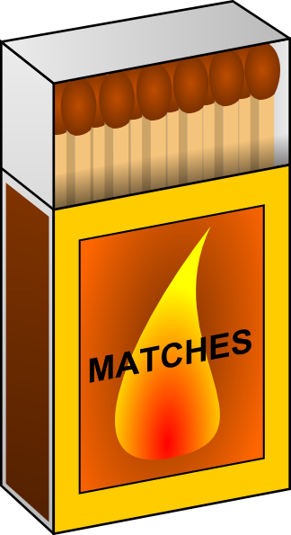Match clipart match box. Clip art at clker
