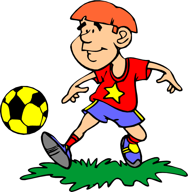 Racing clipart student sport. Free playing soccer download