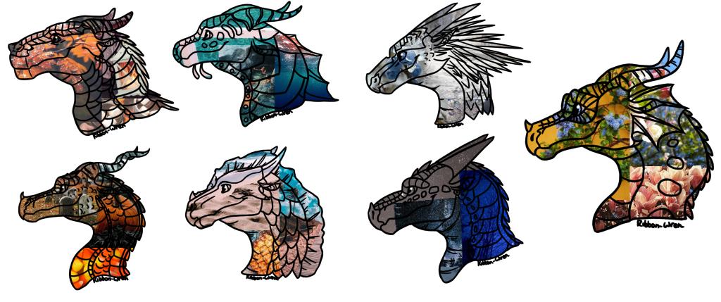 Match drawing aesthetic. Wof mystery adopts open