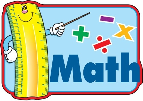 Math clipart. Kids learning kind of
