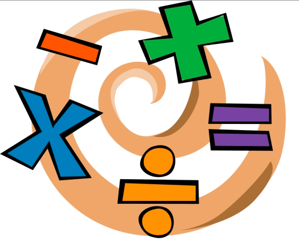 Math clipart calculation. Mental subtraction calculate change