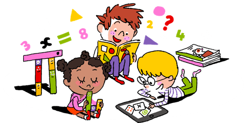 Addition clipart animated math. Grade k