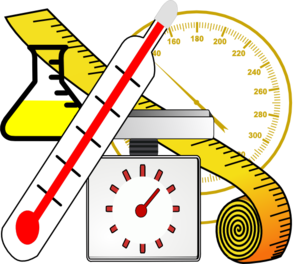 measuring clipart science instrument