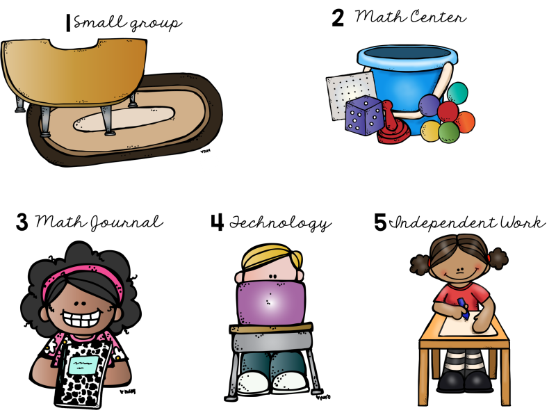 math clipart math center