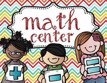 Math clipart math center. Cutter morning star public