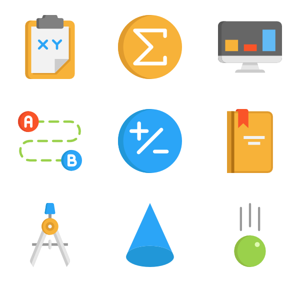 Math icon png. Packs vector svg