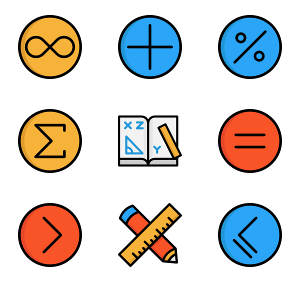 Math images png. Icon packs vector
