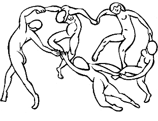 Matisse drawing hand. Popular and trending stickers