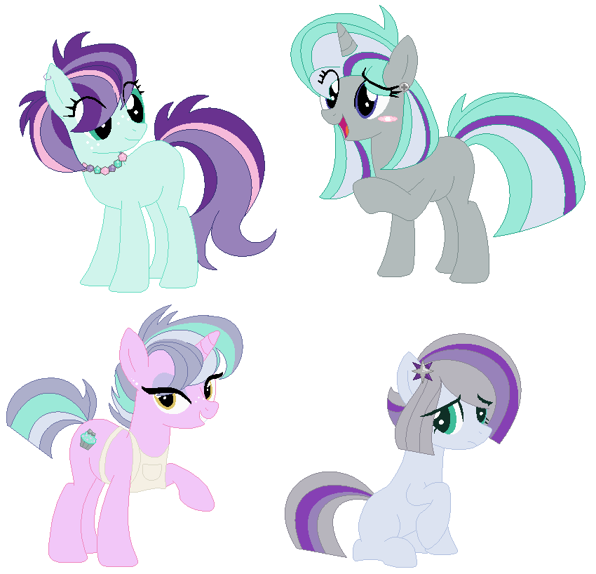 maud pie and starlight glimmer png
