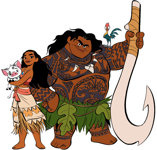 moana characters png