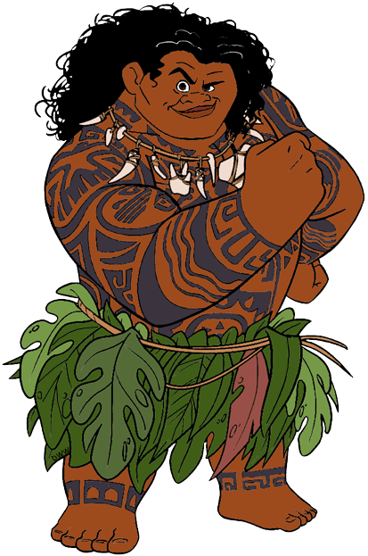 Maui moana png. From disney pinterest party