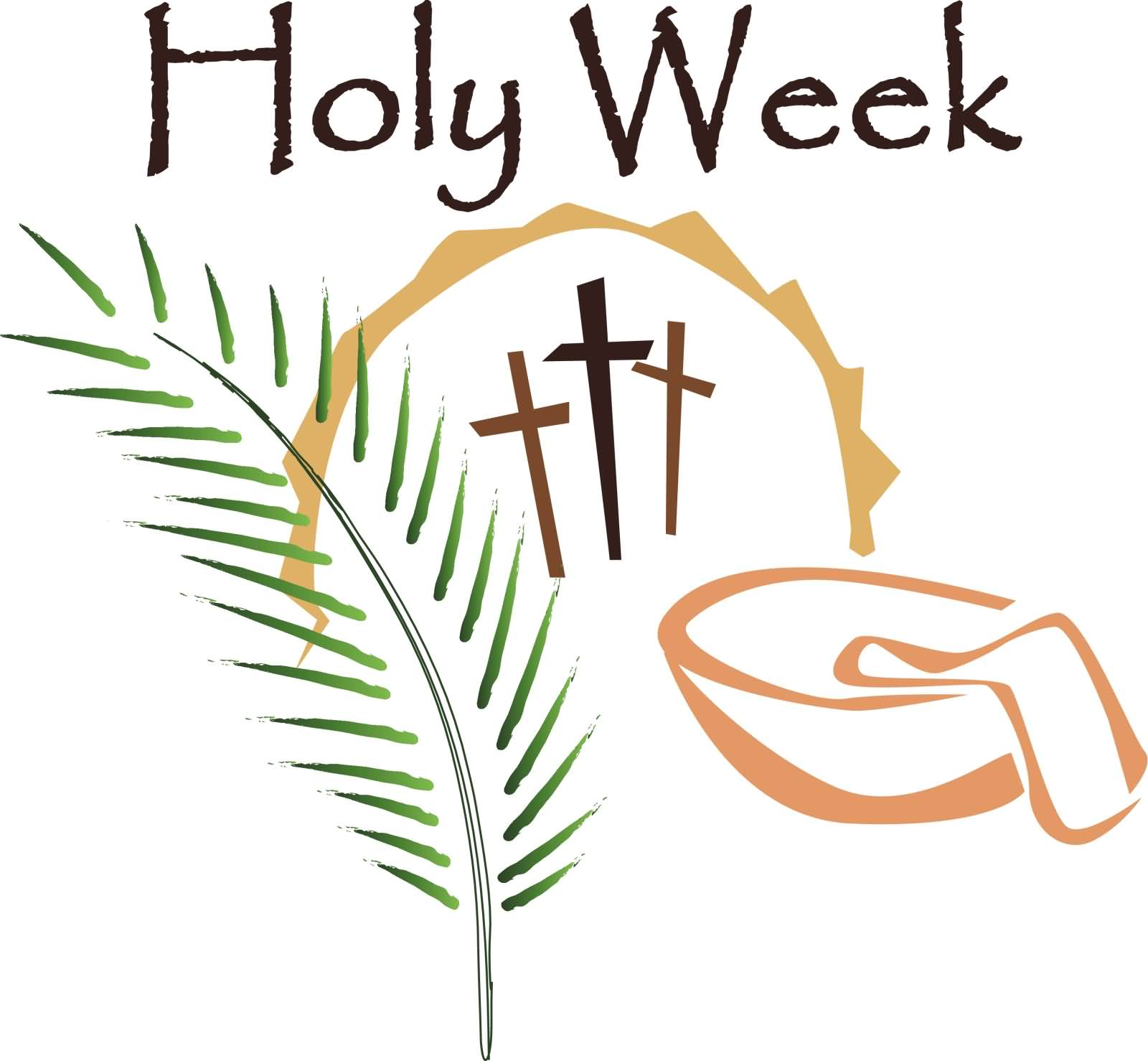 Maundy clipart star. Holy week blessings