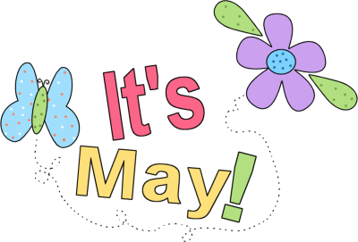 May clipart. Month of free