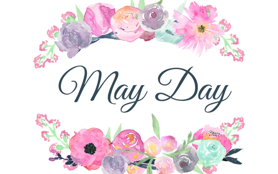 May clipart mayday. Day flowers clip art