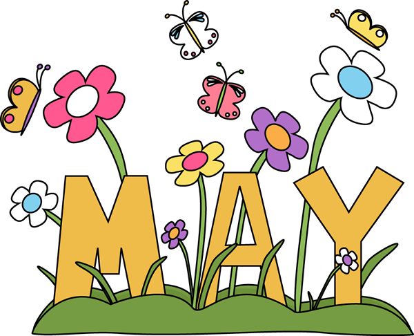 May flowers png. Free month clip art