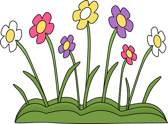 May flowers png. Spring flower patch clip