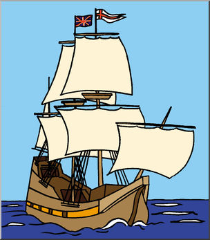 Corn clipart mayflower. Clip art color i