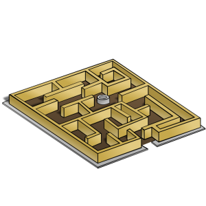 Maze clipart pathway. Geography map symbols clip