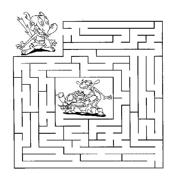 Maze clipart coloring sheet. Sheets go digital with
