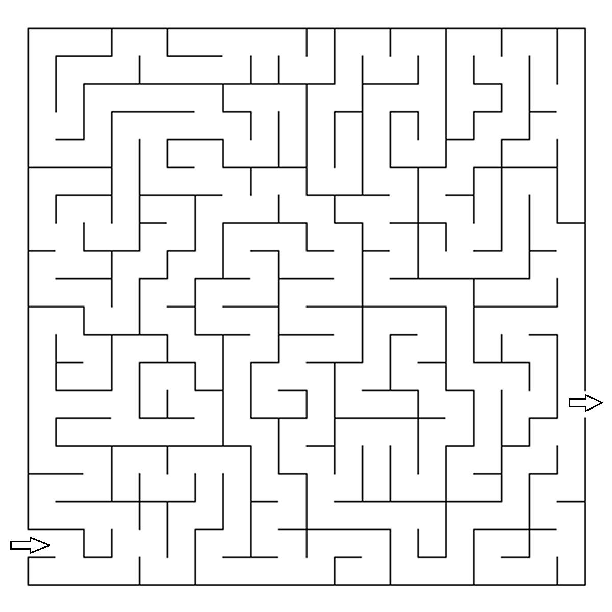 Maze clipart coloring sheet. Page http colorings co