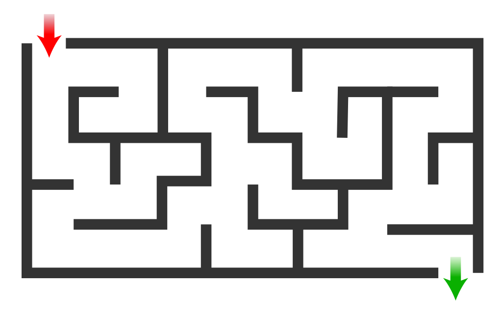 Maze clipart cool easy. File simple svg wikimedia