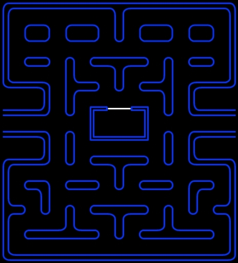 Maze clipart pacman. Pac man pencil and